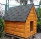 Будка для собаки под заказ  1300*800*1450