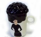 Подарок парню — чашка керамическая afro cup