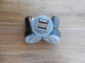 USB зарядка от прикуривателя в авто 2 usb разъёма
