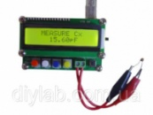 Прецизійний вимірювач LC ємності, індуктивності (1 пФ - 10 мкФ; 0,001 мкГн - 100мH; 0.001 мГн - 100H)