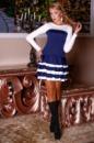 Платье юбка-рюша