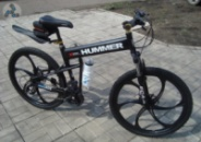 Элитный Велосипед HUMMER Black на литых дисках