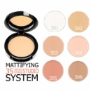 Пресована матуюча Inglot 3S FREEDOM SYSTEM MATTІFYІNG PRESSED POWDER кругла