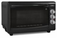 Электродуховка Ecotec - 40 л, 1300 Вт, черная