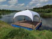 Палатка торговая и для мероприятий 4х4 - выставочные палатки со шторами