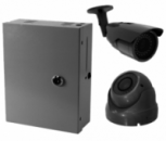 HD система видеонаблюдения на 2 камеры 1200ТВЛ с установкой