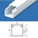 Кабельний канал 25х25 (80 м.п./уп) пластиковый с крышкой