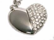 Продам флешку-подвеску сердце (скидка 40%!)