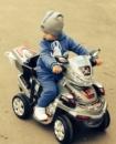 Детский квадроцикл F918R белый