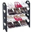 Полка для обуви 12 пар Stackable Shoe Rack
