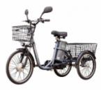 Электровелосипед трехколесный грузовой HAPPY 2020 + реверс