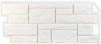 Фасадная панель Fineber Камень Цвет Белый