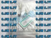 Стабилитроны 0,5 W диапазон от 2,4V до 8,2V