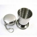 Складной стакан из нержавеющей стали (большой) 250 мл