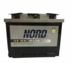 Автомобильный аккумулятор NORD 6-СТ-60 АзЕ R+