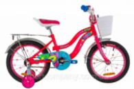 Велосипед 16« Formula FLOWER 14G St с багажником зад St, с крылом St 2019 (розовый)