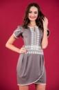 7-4 Короткое нарядное платье