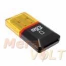 Картридер Micro SD черный