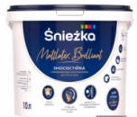 Краска Sniezka Mattlatex Brilliant, 10л/13.7кг