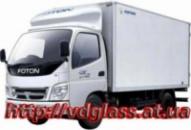 Лобовое стекло для грузовиков Foton BJ 1039, 1043, 1049
