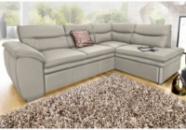 Кожаный угловой диван (раскладной) производства Германии