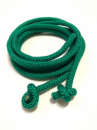 Гимнастическая скакалка диаметр 10 мм. зеленая 3 метра, из синтетического материала полипропилена.