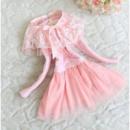 Платье детское розовое 7201