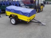Тент на легковой прицеп. с доставкой по Украине. по вашим размерам