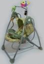 Электронная качеля - шезлонг 2в1 SIGMA green