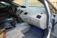 Торпеда в алькантару на Honda Civic 4D
