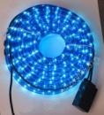Светодиодный дюралайт 20м.Цвет:синий.