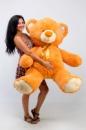 Плюшевый медведь Томми 150см Светло-коричневый