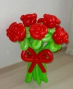 Букет Алые розы №19