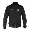 КОФТА ARENA TL KNITTED POLY JACKET BLACK С ГЕРБОМ