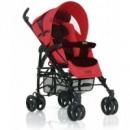 Коляска-трость ABC design  «PRIMO», Cherry-black, цвет красный с черным