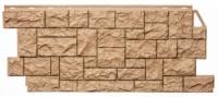 Цокольная панель Fineber Дикий камень Цвет Песок