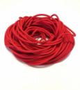 Жгут спортивный резиновый в тканевой оплетке ( резина, d-10 мм, I-400 см, красный ) rez.zhyt10red