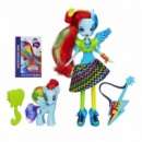 My Little Pony Equestria Girls Rainbow Dash Doll and Pony Set, Девушки Эквестрии Рейнбоу Деш с пони