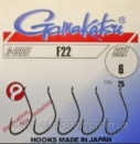 Крючки Gamakatsu F22 №16 (25шт.)