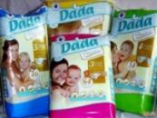 Памперсы DADA PREMIUM 2 (3-6 кг) 78 шт Польша