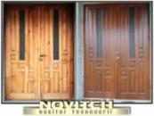 Ремонт реставрация дверей, покраска тонировка лакировка дверей.