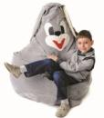 Кресло-мешок «Зайчик» из велюра