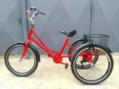 Велосипед трехколесный «Городской с корзинкой 24»