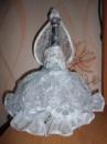 Украшение на бутылку« невеста»