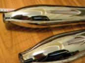 Выхлопные трубы Ява 350 старушка Турция