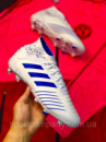 Бутсы Adidas Predator 18+FG/адидас предатор без шнурков(реплика)