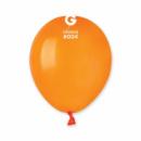 Шары воздушные латексные Gemar пастель оранжевый 5'' 13 см