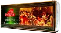 Чай Mervin Regular зеленый пакетированный 25*2 грам