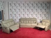 Комплект кожаной мягкой мебели релакс из Германии