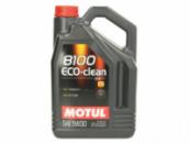 5W30 5L MOTUL 8100 ECO-CLEAN 5W30 5L Масло ДВС Синтетика (DPF Фильтр) (841551/101545)